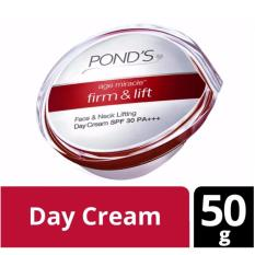 PONDs Age Miracle Firm & Lift Day Cream SPF 30 50gr ORIGINAL STOK TERBATAS