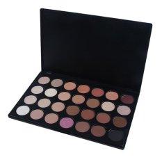Pro 28 Color Neutral Warm Eyeshadow Palette Eye Shadow Makeup Cosmetics - intl
