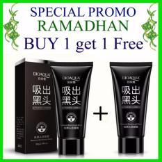 ... Original Masker Wajah Arang Chorcoal Premium Quality Pengangkat Komedo Hitam. PROMO Ramadhan Buy 1 Get 1 BIOAQUA Charcoal Mask Black Mask Masker Arang