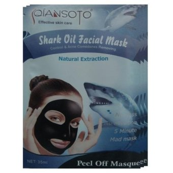 Qiansoto Masker Wajah Alami Fish 3pcs