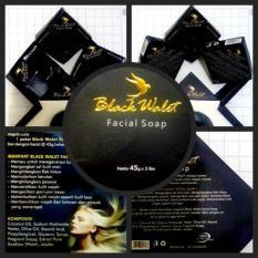 Sabun Black Walet Pembersih Wajah alami 1 paket isi 3 pcs