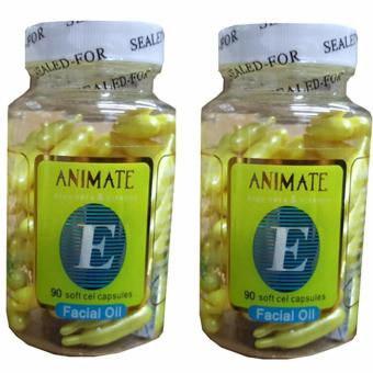 Serum Vitamin Wajah Animate Aloe Vera Facial Oil - 120 Softgels