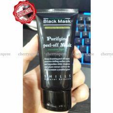 Shills Black Mask Remove Blackhead 100% Original Peel Off Mask Masker Pembersih Ampuh Angkat Komedo Blackheads - 50ml