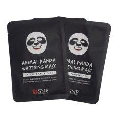SNP Masker Wajah Animal Panda Original - 2 Sachet