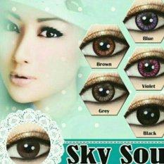 Soflens SKYSOUL / Softlens SKY SOUL Baby Eyes DEPKES - Brown