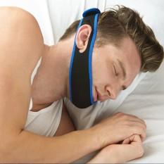 Stop Snore Snoring Anti Apnea Jaw Brace Sleep Chin Support Strap Belt Solution - intl