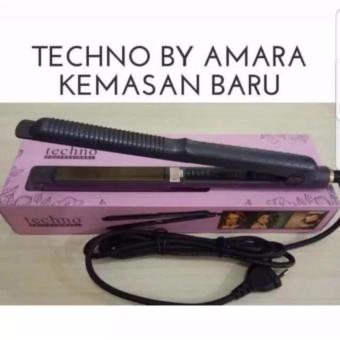 Techno 2in1 Hair Curly Straight Curly Hair Straightener & Curly Catokan - Hi