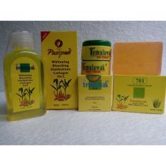 Temulawak Paket Cream Siang Malam Original Plus Sabun temulawak dan Toner Temulawak