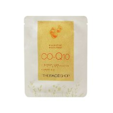 The Face Shop Essential Mask Sheet Coenzyme Q10 - 22mL (For All Skin Types)