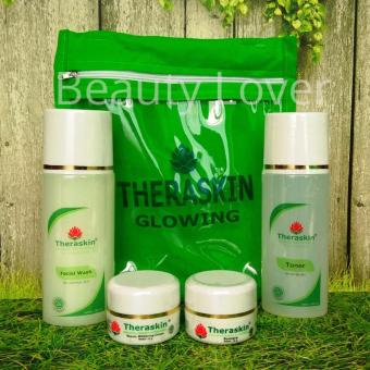 Theraskin Paket Glowing BPOM - Cream Pencerah Wajah Theraskin BPOM