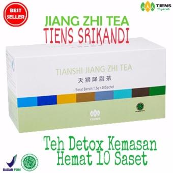 Tiens Jiang Zhi Tea Kemasan Hemat 10 Saset Original Tiens By Tiens Srikandi Free Gift +