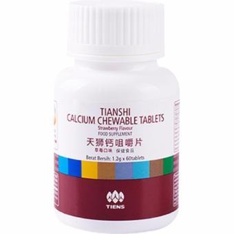 Tiens Kalsium Penguat Tulang dan Gigi, Calcium Chewable Tablets