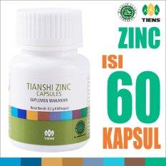 Tiens Zinc Capsules - Ori Tianshi - 1 Botol Isi 60 Kapsul