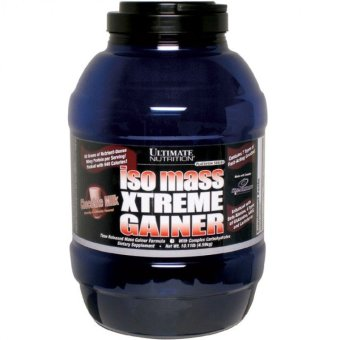 Ultimate Nutrition Iso mass Xtreme Gainer 10.11 lbs - Chocolate