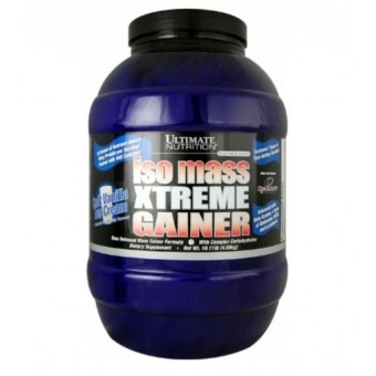 Ultimate Nutrition Iso Mass Xtreme Gainer 10.11 lbs - Vanilla