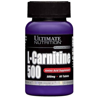 Ultimate Nutrition L-Carnitine 500 mg USP - 60 Tabs