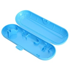 USTORE Electric Toothbrush Travel Case Toothbrush Protective Case Hard Case for Oral-B Blue - intl