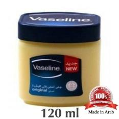Vaseline Petroleum Jelly 120ml 100% Original Made In Arab