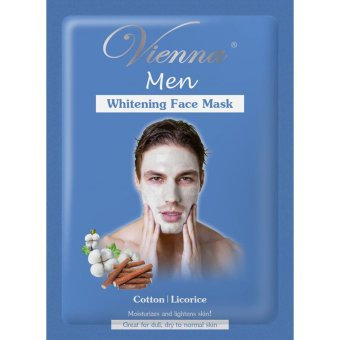 Vienna Men Face Mask Whitening - 15ml Sachet