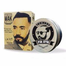 Wak Doyok Pomade Hair Wax Rambut Water Based Gel Strong Hold Tahan Lama Wangi Herbal Alami