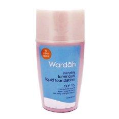 Wardah Everyday Luminous Liquid foundation - 02 Light beige