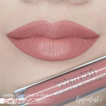 Wardah Exclusive Lip Cream Matte - 03 See You Latte