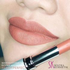 Wardah Intense Matte Lipstick - 03 Peach Perfect