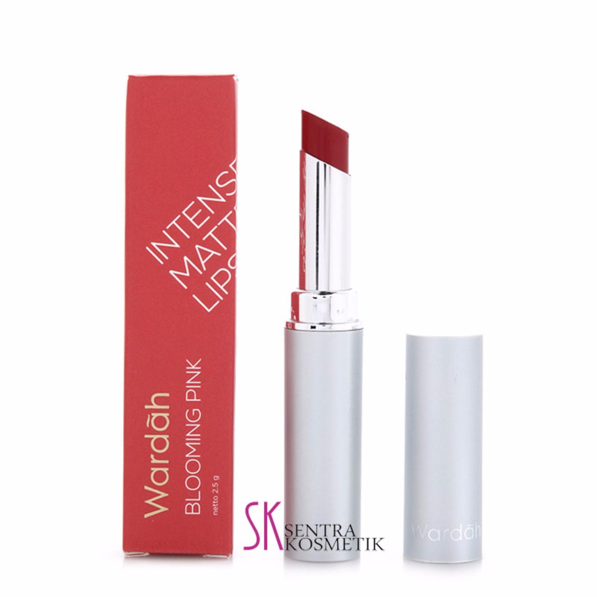 Wardah intense matte lipstick 06 blooming pink 4271 88220041