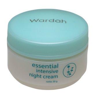 Wardah Intensive Night Cream - 30 g | Lazada Indonesia