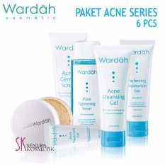 Wardah Paket Acne Series - 6 pcs