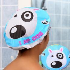 Shower Cap Kartun Waterproof Elastic Lace Shower Bouffant Hair Source Waterproof Elastic Lace Shower Bouffant Hair