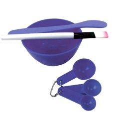 Yangunik Mangkok Masker Set Biru