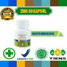 Zinc penambah nafsu makan herbal tiens 30 kapsul