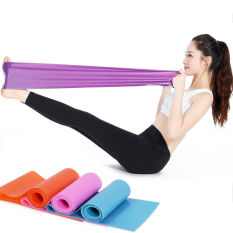 1,5 m elastis karet tahan peregangan Yoga Pilates latihan Fitness Belt Band - International