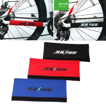 1pcs Bicycle Chain Protector Pad Paste Rear Fork Care Posted Guard Cover - intl