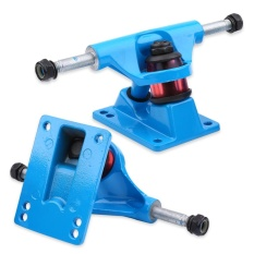 2pcs Skateboard Trucks Combo 3.25inch Skatebaord (Blue) - intl