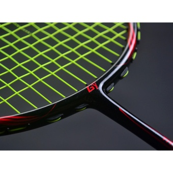 6U Ultra-light Offensive And Defensive Badminton Racket 72g G4,Full Carbon Fiber,For Badminton Training Activities (Pre-strung 30lbs)- intl