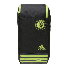 Adidas Chelsea FC Shoe Bag - Black-Yellow