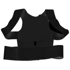 Adjustable Magnetic Power Posture Back Support Correction Belt Band Posture Corrective Brace Body Shaper Strap For Women & Men XL - intl