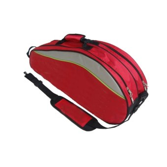 badminton racket bag backpack for 6 rackets - intl
