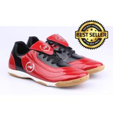 Catenzo Sepatu Futsal Sintetis Original - Men Shoes - Merah