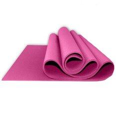 Crazy 8 Yoga Mat 6mm with Bag - Pink