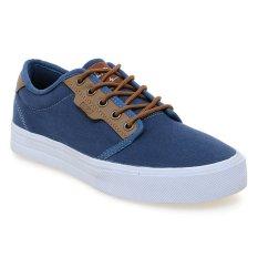 Eagle Homer Sepatu Sneaker - Navy-Cokelat