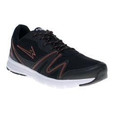 Eagle Transonic Sepatu Lari - Black/Pea