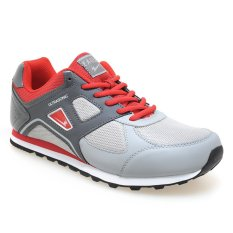 Eagle Ultrasonic Sepatu Jogging - Dark Red-Dark Grey-Light Grey