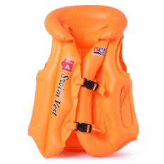 Eigia Rompi Pelampung Anak Ban Renang Swim Vest - Orange