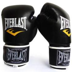 Everlast sarung pelatihan tinju Muay Thai (hitam) - International