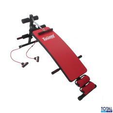 Free Ongkir - Jabodetabek - Jabar - Jateng - Jatim - Total Fitness Official - Papan Sit Up/New Sit Up Bench Merah Totalfitness-Alat Olahraga-Alat Fitness-Body Building-Bentuk Otot Perut