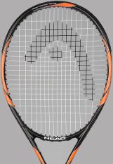 Head Racket Tennis Head Nano Titanium Tornado New (Orange)