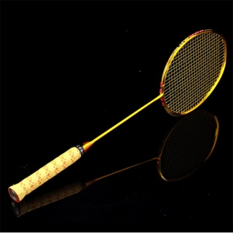 KLT008 all carbon fiber badminton racket high quality badminton racket battledore 80g,(4U 32Lbs)G5,(Pre-strung 32lbs) - intl